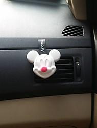 Parabens da grade de saída de ar do carro Mickey vermelho encontro fragrância do sabor do mar Purificador de ar automotivo