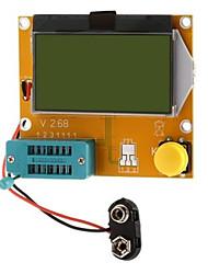 lcr - t4 - h tester de transistor esr scr metro para proyecto diy
