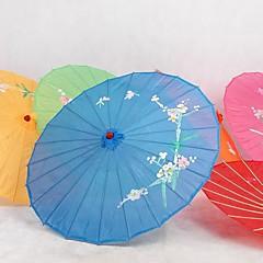 Seide Ventilatoren und Sonnenschirme Stück / Set Sonnenschirm Garten Thema Asiatisches  Thema Blau 48cm hoch×82cm Durchmesser 48cm hoch
