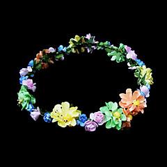 Mulheres Menina das Flores Papél Capacete-Casamento Ocasião Especial Flores