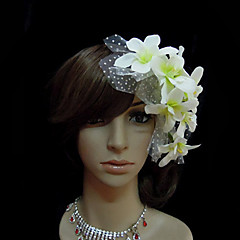 Dame Tyll / Chiffon Headpiece-Bryllup / Spesiell Leilighet fascinators