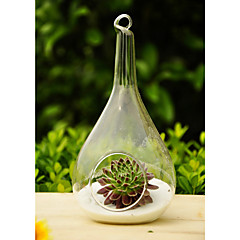 Table Centerpieces Artistic Drop Shaped Hanging Glass Vase  Table Deocrations