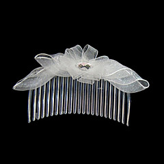 Women's Satin Headpiece-Wedding / Special Occasion / Casual / Outdoor Hair Combs