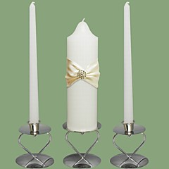 Wedding Unity Candles Set-White (More Colors) (Candle Holders Not Included)