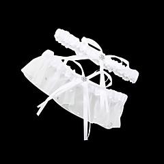 Liga Satén Lazo / Brillante Blanco