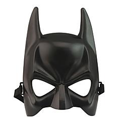 Maska Superhrdina / Bats Festival/Svátek Halloweenské kostýmy Černá Jednobarevné Maska Halloween / Karneval / Nový rok Unisex PVC