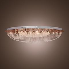 Max 20W Takmonteret ,  Moderne / Nutidig Krom Feature for Krystal Metal Stue / Soveværelse