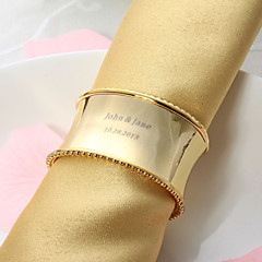 osobní pěkný slitiny prsten ubrousku (více barev)
