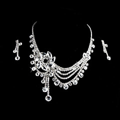 Jewelry Set Women's Anniversary / Wedding / Engagement / Birthday / Party / Special Occasion Jewelry Sets Alloy / Rhinestone Rhinestone