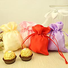 24 Stück / Set Geschenke Halter-Kreativ Satin Geschenktaschen Nicht personalisiert