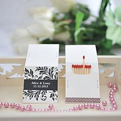 Karton Wedding Decorations-25Stuk/Set Gepersonaliseerd Lucifers niet inbegrepen.