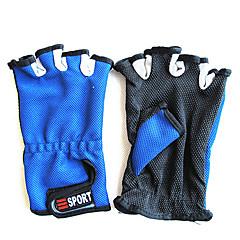 Tilfældige Farve Kort Finger Fiskeri Anti-Slip Handske