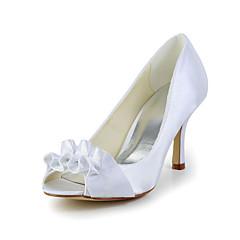 Women's Wedding Shoes Heels Heels Wedding Black/Ivory/White