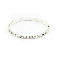 Amazing Alloy With Rhinestone Women's Bracelet