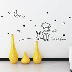 Cartoon Kleine Prinz Wandsticker