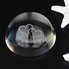 Gifts Bridesmaid Gift Personalized Domed Crystal Favor
