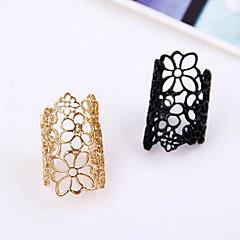נשים טבעות הצהרה מתכווננת פתוח ארופאי תכשיטים תחרה סגסוגת תכשיטים עבור Party קזו'אל