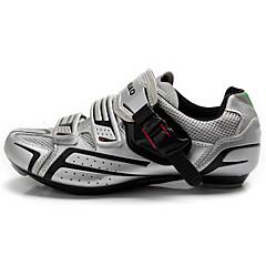 TIEBAO® נעליים לאופני כביש נעלים לרכיבת אופניים לגברים לנשים יוניסקס נגד החלקה עמיד למים נושם טבע אופני הרים אופני כביש עור PVCרכיבה על