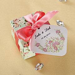 Personalized Favor Tags - Spring Blooming (set of 36)