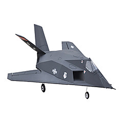 64mm F-117 8 Kanala 2.4G RC Airplane 100 km / h
