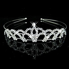 Women's Flower Girl's Rhinestone Headpiece-Wedding Headbands