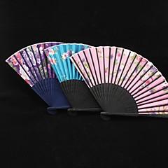 Sakura Pattern Silk Ruční ventilátor (více barev)
