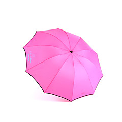 Personalized Metal Frame Anti-UV Parasol Sun/Rain Folding Umbrella (More Colors)