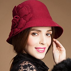 Women's / Flower Girl's Wool Headpiece-Special Occasion / Casual / Outdoor Hats