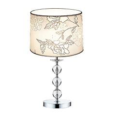 60W Moderne/samtidig Bordlamper , Feature for Krystal , med Krom Brug Til/fra Kontakt