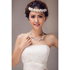 Women's Imitation Pearl Headpiece-Wedding / Special Occasion Headbands / Flowers / Head Chain