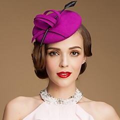 Women's Wool Headpiece-Wedding Special Occasion Casual Outdoor Hats
