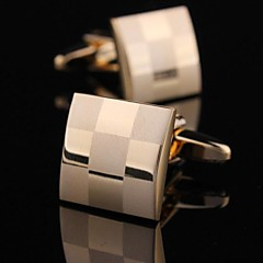 XINCLUBNA®	Fashionable 1.5cm Men's Gold Copper Cufflink (Gold)(1pair)