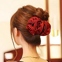 韓国のバラの形の女性のためのアクリルの毛の爪(その他の色)(1個)