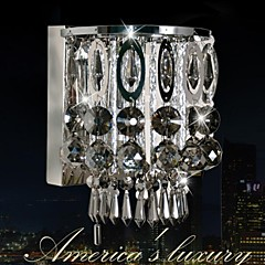 SUNWEIT Modern Wall Sconces med Crystal Feature