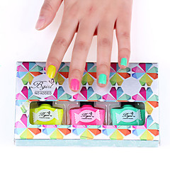 3PCS New Arrival  Pungent Odorless Nail Polish Set Colors Available No.2