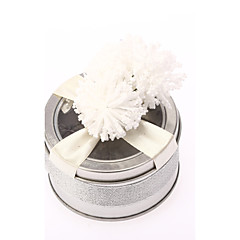 6 Piece/Set Favor Holder-Cylinder Iron(nickel plated) Favor Boxes Favor Tins and Pails Non-personalised