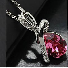 mengnanfeng elegant diamonade Kristall Halskette-Kette: (45 + 5) * 1,6 * 2,8 cm