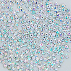 1400pcs 2mm glitter crystal ab strass nail art decoratie
