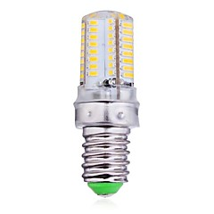 4W E14 LED-kolbepærer 64 SMD 3014 300 lm Varm hvid / Kold hvid AC 220-240 V