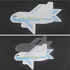 1pcs sjabloon duidelijke perler kralen pegboard vliegtuig patroon voor 5mm hama kralen zekering kralen