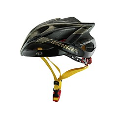 Basecamp® BC-007 New Arrival Upgrade High Quality Integrally Molded  Ultralight Adjustable Bike Helmet Black+Golden