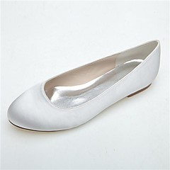 Women's Wedding Shoes Round Toe Flats Wedding/Party & Evening Black/Blue/Pink/Purple/Ivory/White
