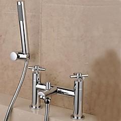Duscharmaturen / Badewannenarmaturen - Messing - Zeitgenössisch Chrom