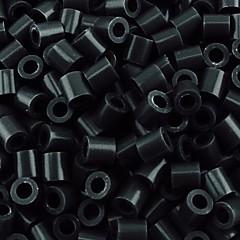 ca 500pcs / taske 5mm sort Perler perler sikringsholdere perler Hama perler diy puslespil EVA materiale olietankeren for børn