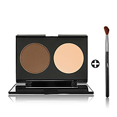 Highlighters/Bronzers/Contour Dry Powder Uneven Skin Tone Face