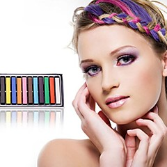 Disposable Hair Dye Chalk12 Pcs(Random 12 Colors)