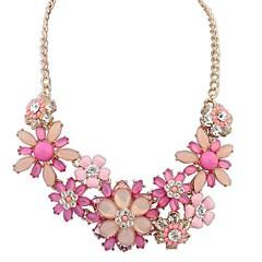 שרשרת אופנה פראית פרחים עשירים הגזמה בסגנון אירופאית (יותר צבעים)