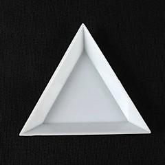 1ks trojúhelníkový nail art skladování kit box
