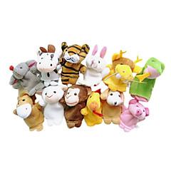 Spielzeuge Fingerpuppe Tiere Zeichentrick Spiele & Puzzle Für Jungen Für Mädchen Gewebe
