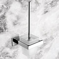Toiletbørsteholder Rustfrit stål Vægmonteret 14.8*13.6*34cm(5.83*5.35*13.39inch) Rustfrit stål / Keramik Moderne